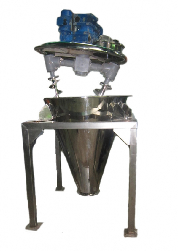 Conical Double Auger